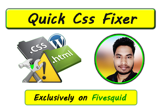 I will Fix Your WordPress CSS And HTML Issues
