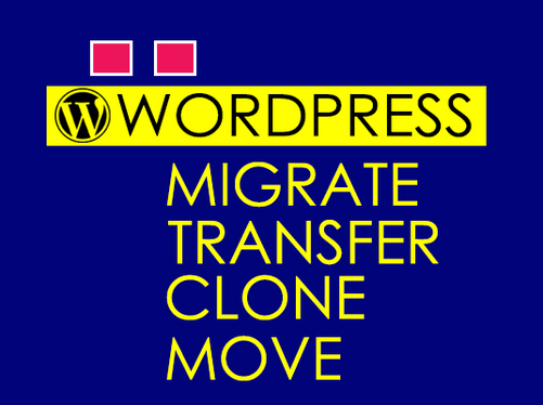 migrate website, move website to new host server
