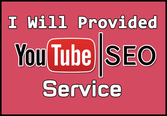 I will provided YouTube SEO service