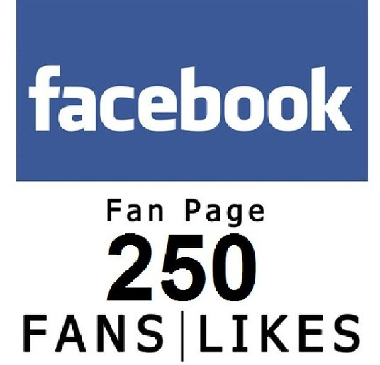 I will add 250 Real Facebook Likes to your Page or post