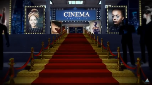 Make Professional Red Carpet Logo Animation Video Intro In Full HD