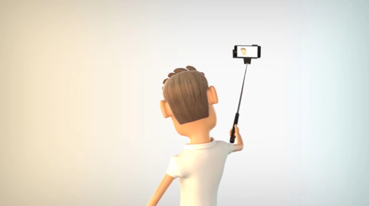 Make Selfie Logo With 3d Character
