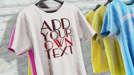 Make T Shirt Promo Video For Your Brand