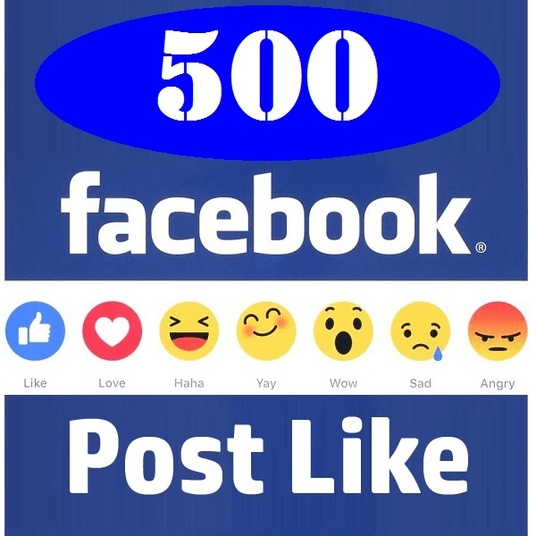 I will provide 500 facebook post likes