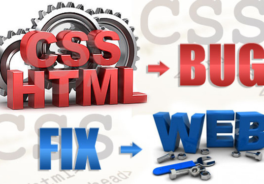 I will fix wordpress, html, css issue  with in 1 day