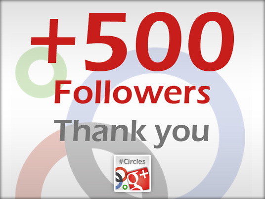 I will Give  You 500 Google plus Followers