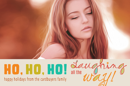 customize these fabulous holiday Christmas cards with pictures, family name - includes files