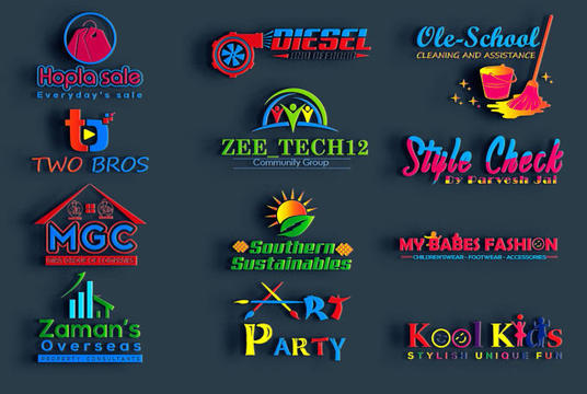 I will Design Creative 3d Logo Design
