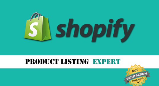I will Upload 30 Products to Your Shopify Store