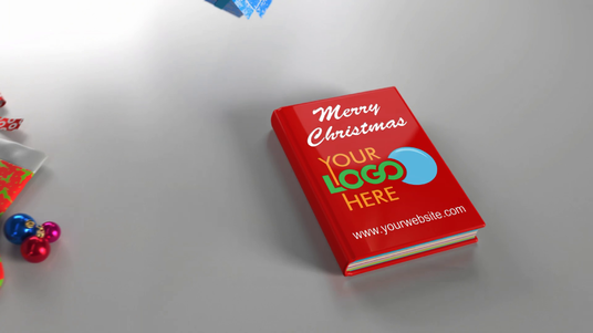 I will Make Awesome Christmas And New Year POP-UP Book Animation