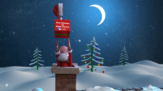 Create Santa Claus Animation Christmas wishes Video