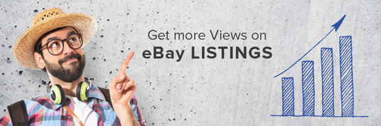 I will give you 15000 views In your eBay product