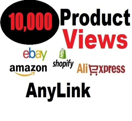 I will Provide  You Alibaba Shopify Etsy Ebay Amazon Ecommerce Shop Product Views