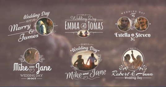 create Awesome Wedding Titles