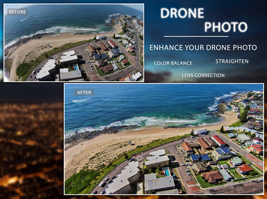 I will create Drone Photo Editing