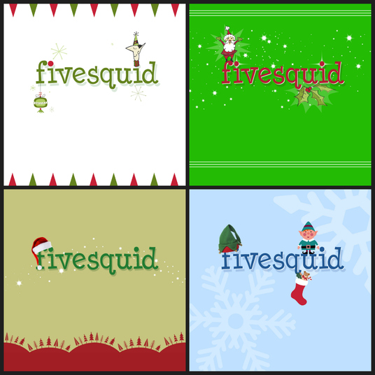 I will holiday Christmas style your logo brilliantly