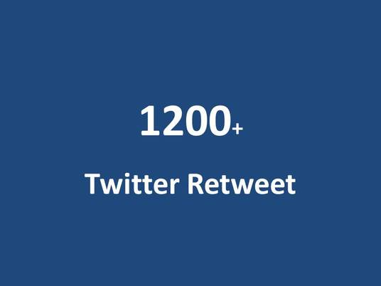 I will do 1200 twitter retweet