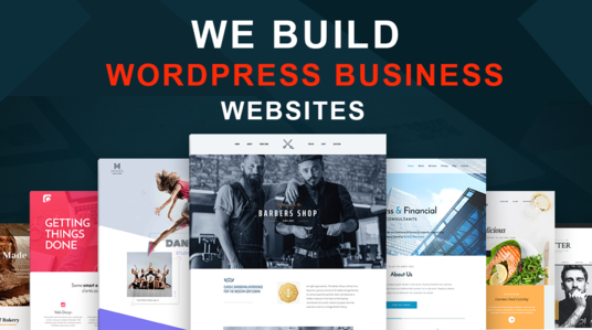 I will Create Responsive Business Wordpress Website Design or Online store
