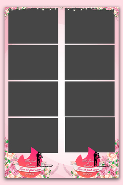 Design Creative Photo Booth Template
