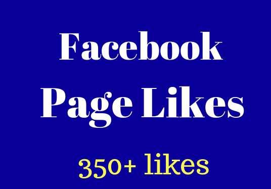 I will provide 350+ Facebook  Page Likes