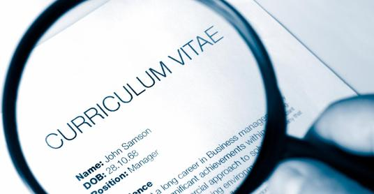 I will write a new CV for you, or I can proofread and edit your current CV