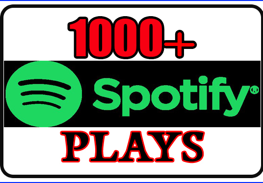 I will Give You 1000 Spotify Plays