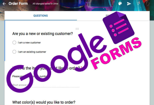 I will create google forms for online questionnaires or survey
