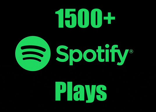 I will provided 1500+ HQ Spotify Music Play