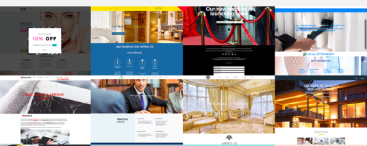 I will design professional business Wix website