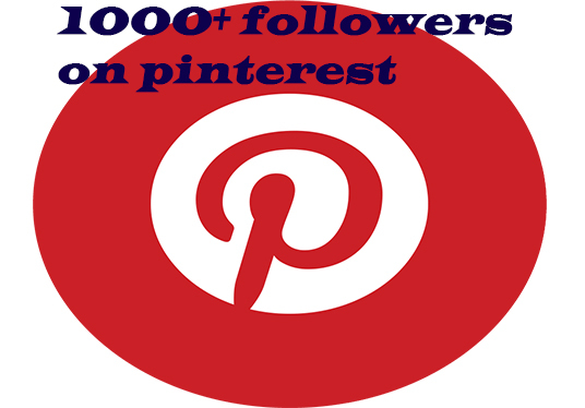 I will get  you 2000+ Pinterest followers