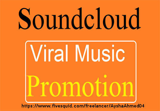 I will do Viral Soundcloud Music Promotion