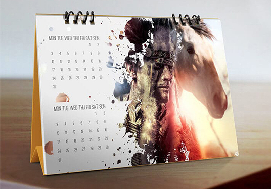 I will Design Beautiful wall or desk or pocket calendar