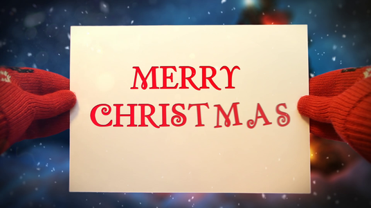 I will Make Awesome Christmas And New Year Greeting Card Animation