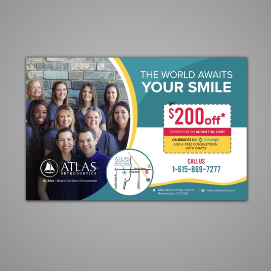 I will Design Creative Flyer Or Postcard Within 24 Hour
