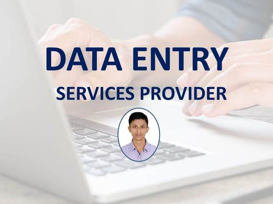 I will do any type of data entry job perfectly