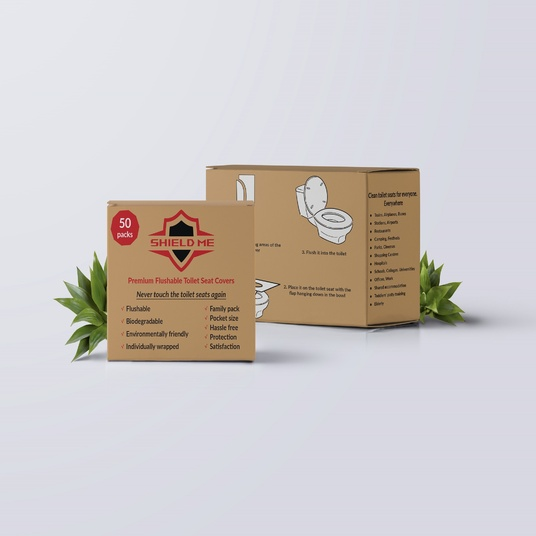 I will create a box and bag packaging design for you