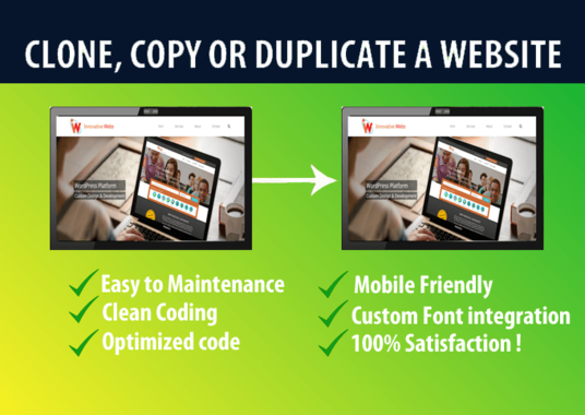 I will clone and copy, move or transfer any website on Wordpress.