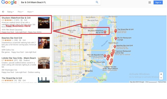 I will do monthly local business SEO on google 3 pack maps rank