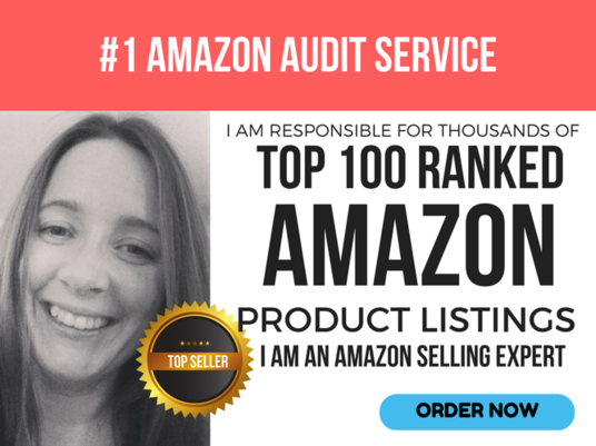 I will audit your Amazon seller account