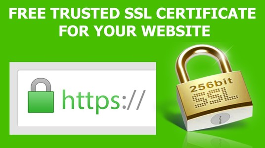 I will install premium SSL certificate lifetime for your  website