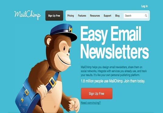I will design email template for Mailchimp