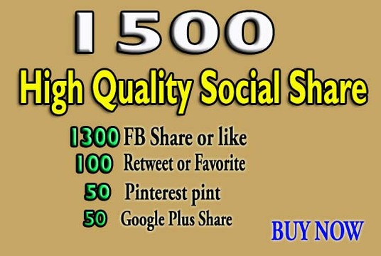 I will Create 1500 Powerful Seo Social Signal to improve rank