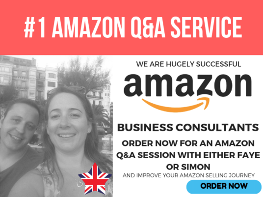 I will provide an Amazon Q&A session - Amazon Expert Remote Consultancy - 1 hour