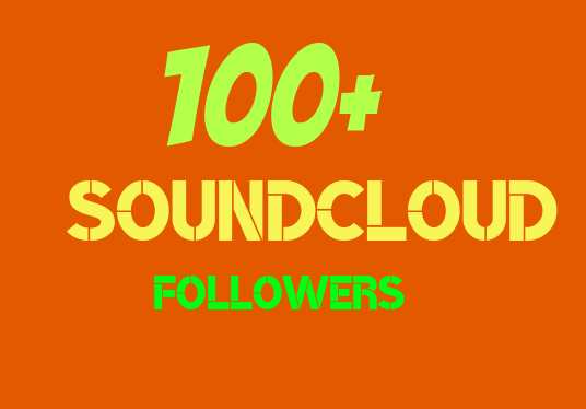 I will Give you 100+ SoundCloud Followers