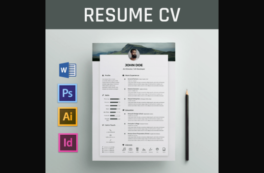 I will write professional  CV