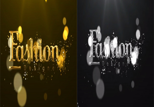 Create This Luxury Gold And Silver Animated Logo Animation