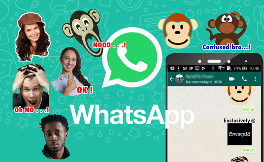 I will create Your Own Whatsapp Sticker From Photos