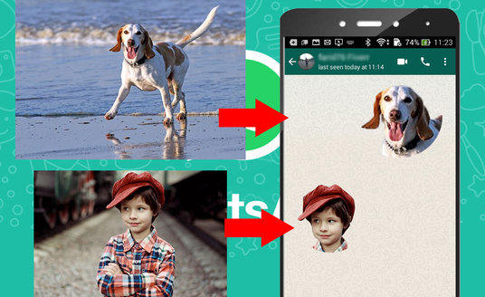 cccccc-create Your Own Whatsapp Sticker From Photos
