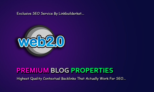 I will Build Premium Web 2.0 Buffer Blog Properties With Login - DA 80+ to 100