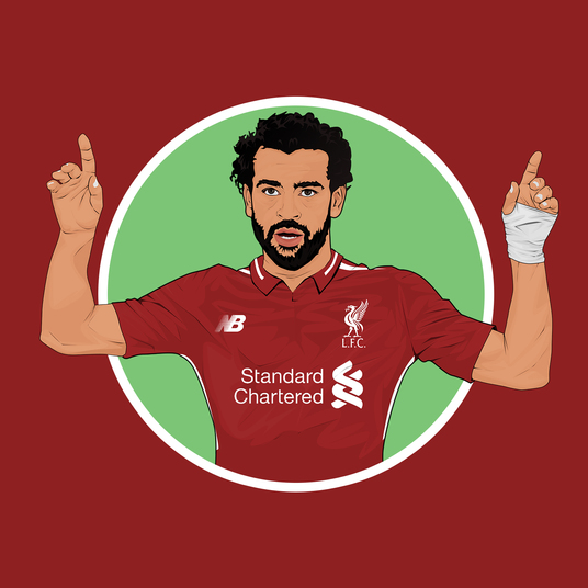 I will draw cartoon of you with your fav football shirts